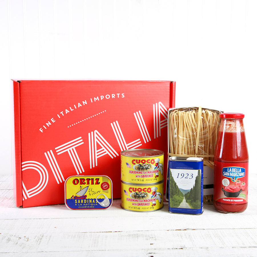 Sicilian Pasta Milanese Gift Box | Set of 6