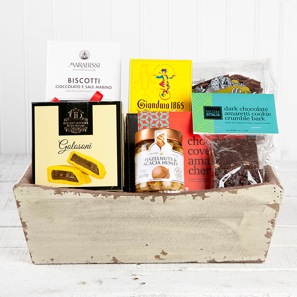 Italian Sweets Gift Basket | Set of 7