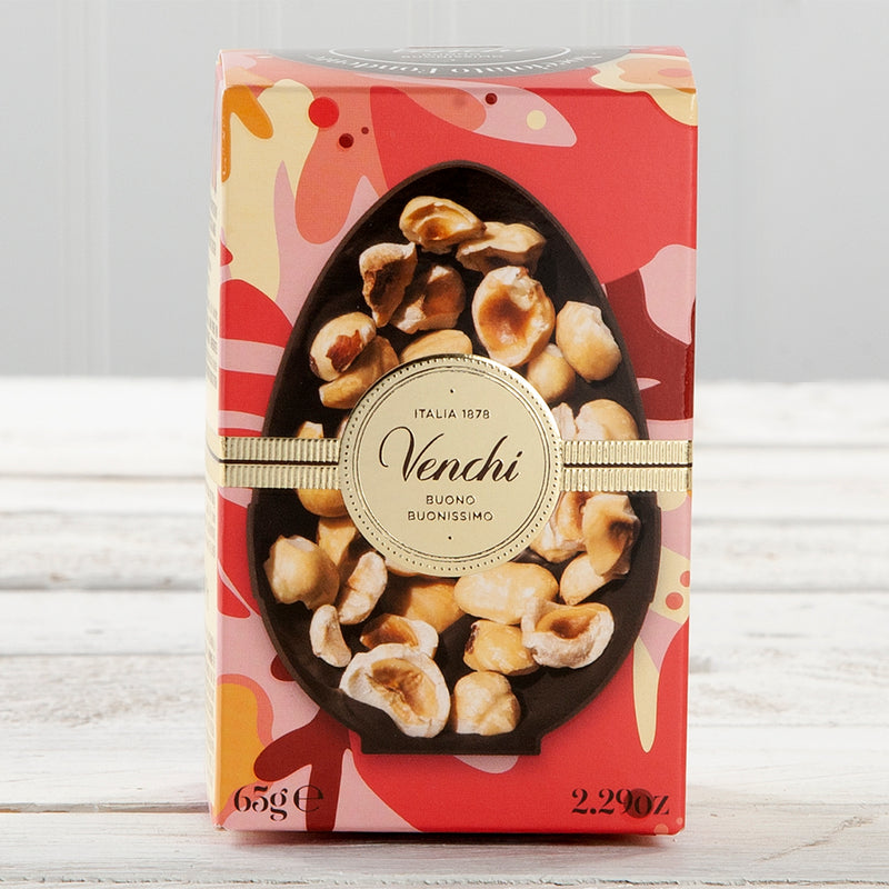 Dark Chocolate with Roasted Hazelnuts Miniature Easter Egg - 2.29 oz