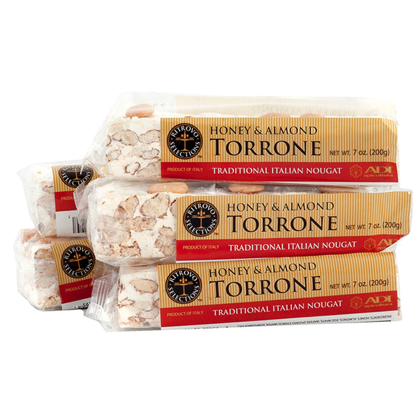 Honey and Almond Torrone - 7 oz.