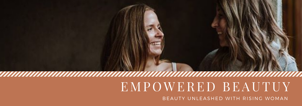 Empowered Beauty with Rising Woman