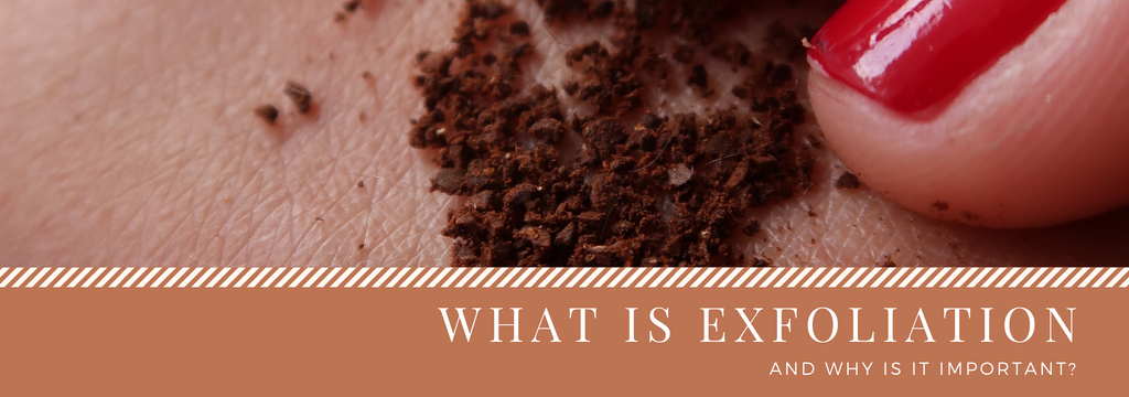 What is exfoliation?
