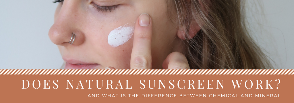 Does natural sunscreen work?