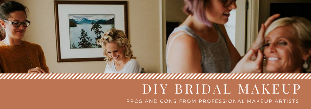 pro's and con's of DIY bridal makeup
