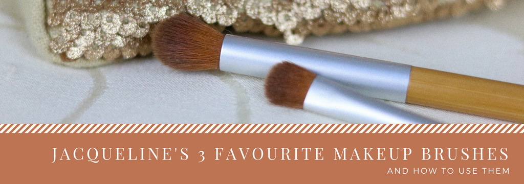 Jacqueline's 3 favorite makeup brushes