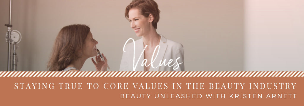 Staying true to core values in the beauty industry with Kristen Arnett