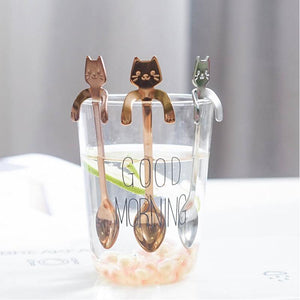 Cat Spoon Set (4pcs)