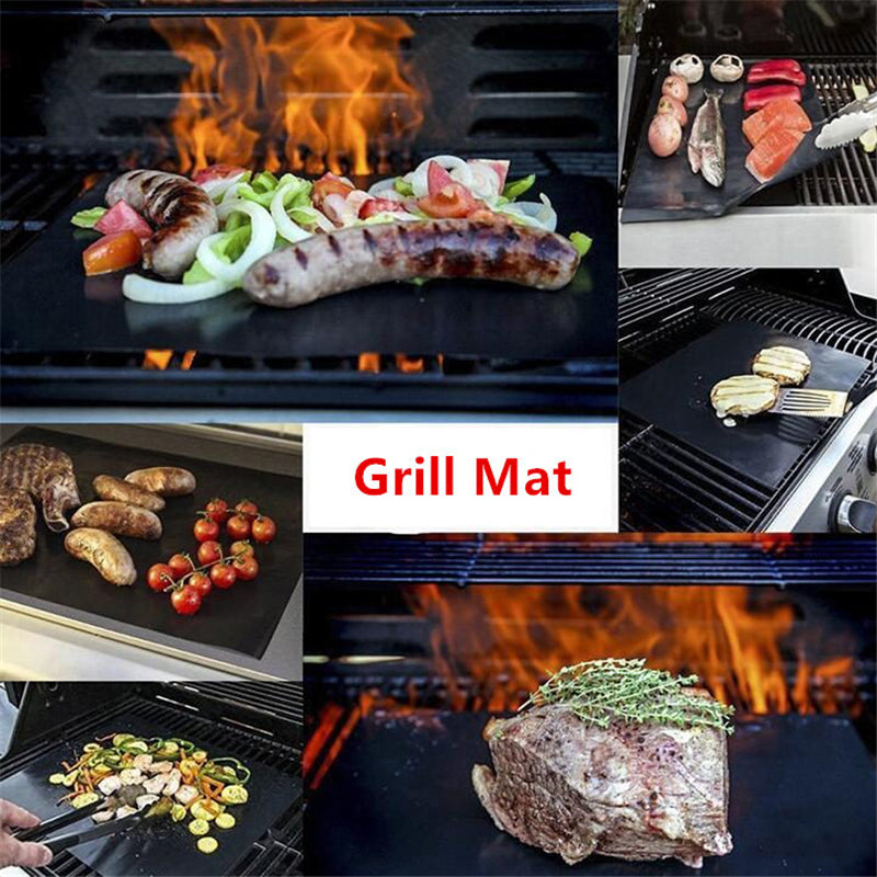 Non stick Grill Mats  (5 Pieces)