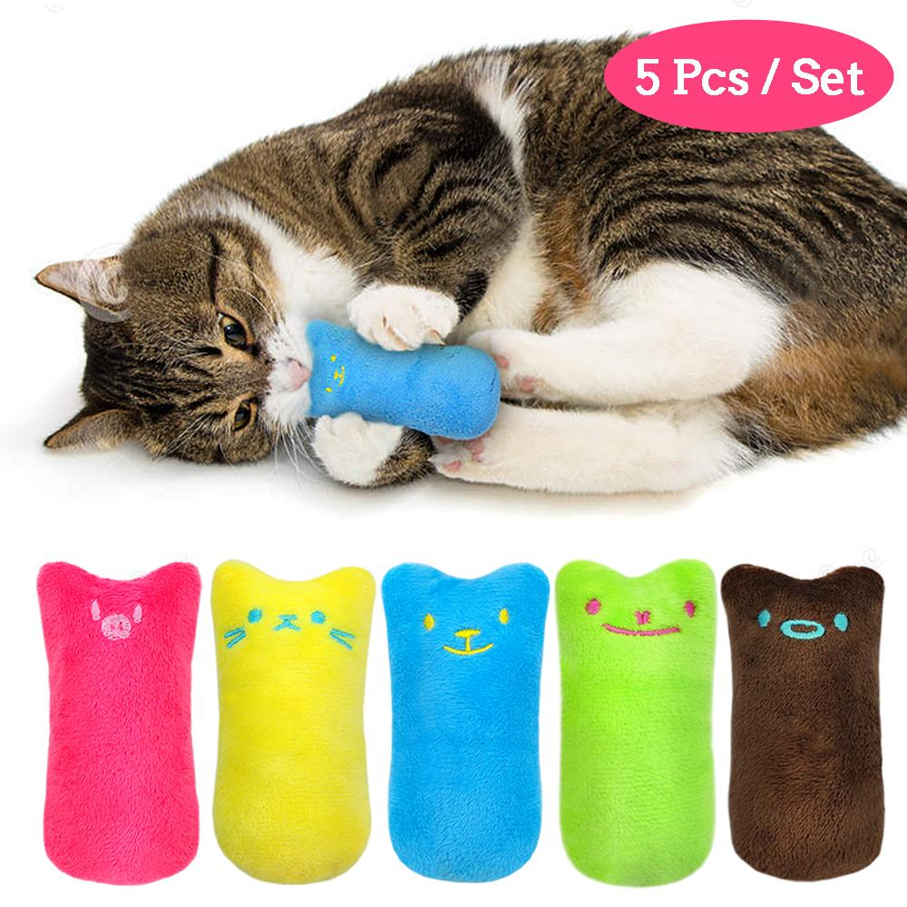 Catnip Chew Toy Set (5pcs)