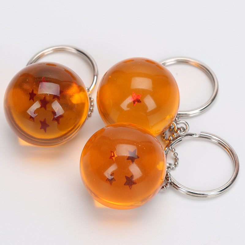 Dragon Ball Z - Keychain Balls Set  (7pcs)