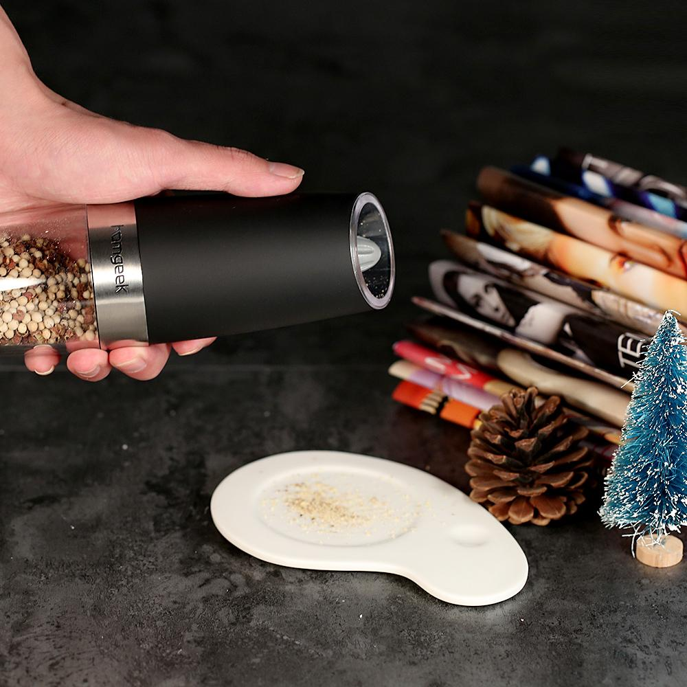 Electric Gravity Salt & Pepper Grinder