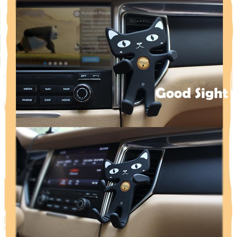 Cat Car mobile phone holder