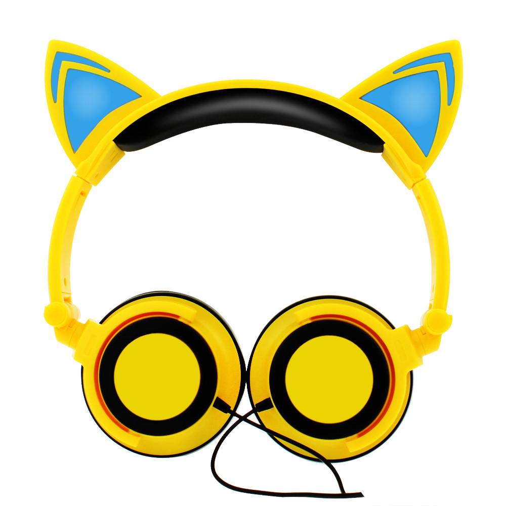 Headphone Glowing Cat Ears