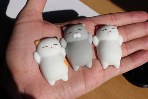 Squishy Cat  - Squishy Cat Stress Reliever (3pcs)