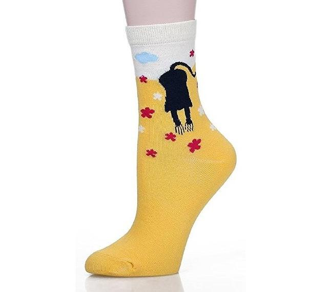 5 Pair Cute Cat Socks