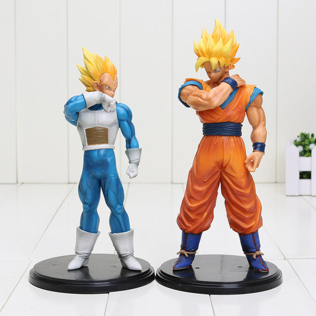 Dragon Ball Z - Son Gokou & Vegeta (20 Cm)