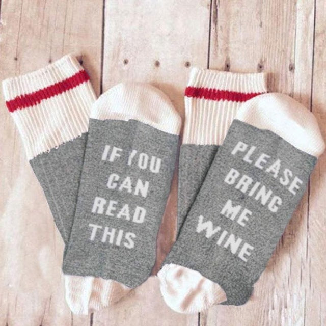 Socks - If you can read this...