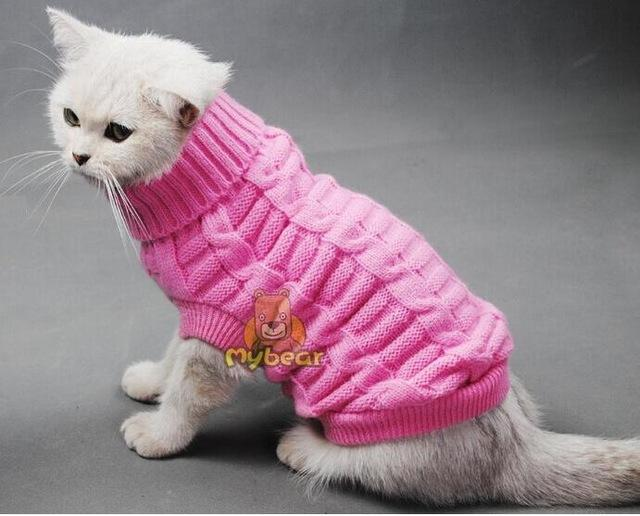 Cat Winter Sweater
