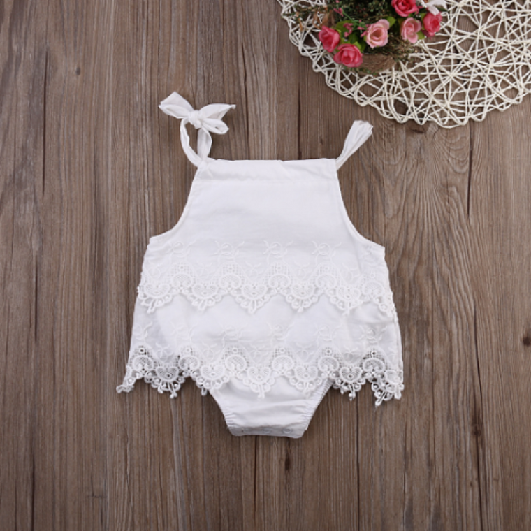 Crochetted Romper