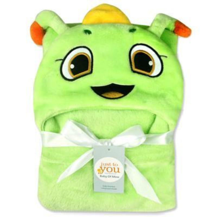 Animal Hood Swaddle Baby Blanket