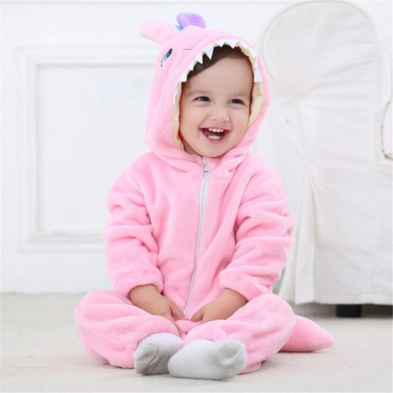 Baby Bunny Costume Plush Jumpsuit