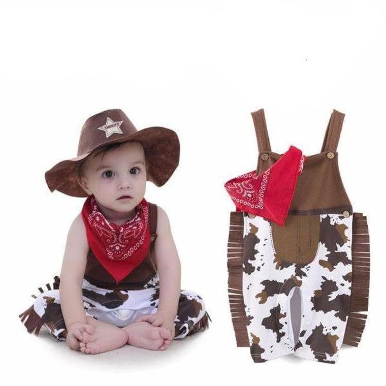 Baby Cowboy Costume For Infant