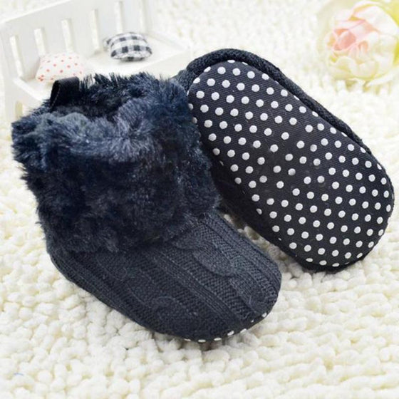 Knitted Ankle Shoes