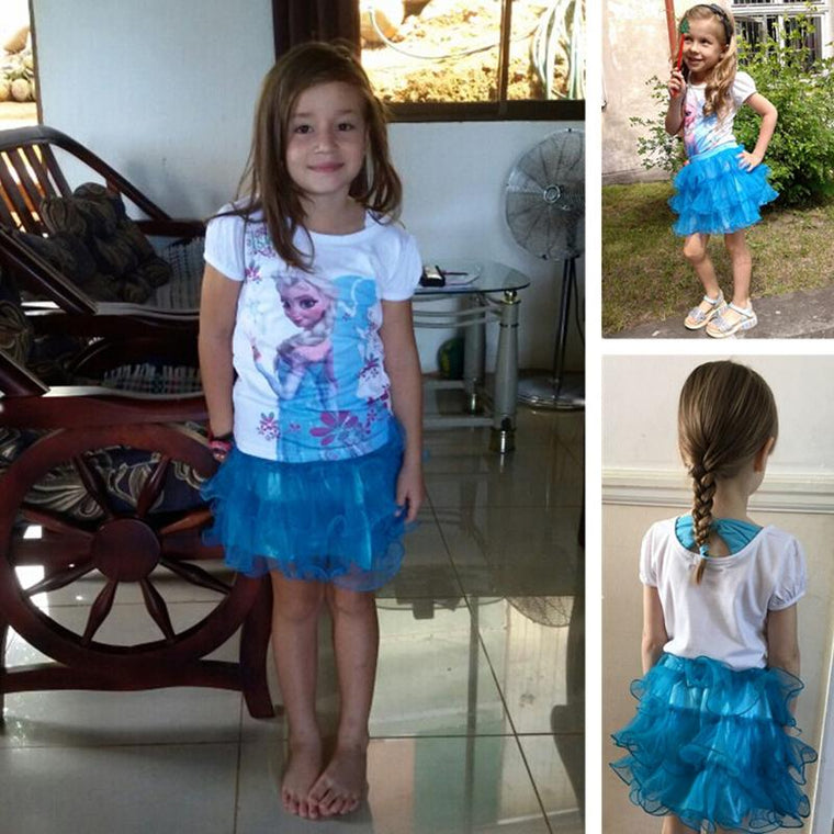 Baby Frozen Dress With Skirt