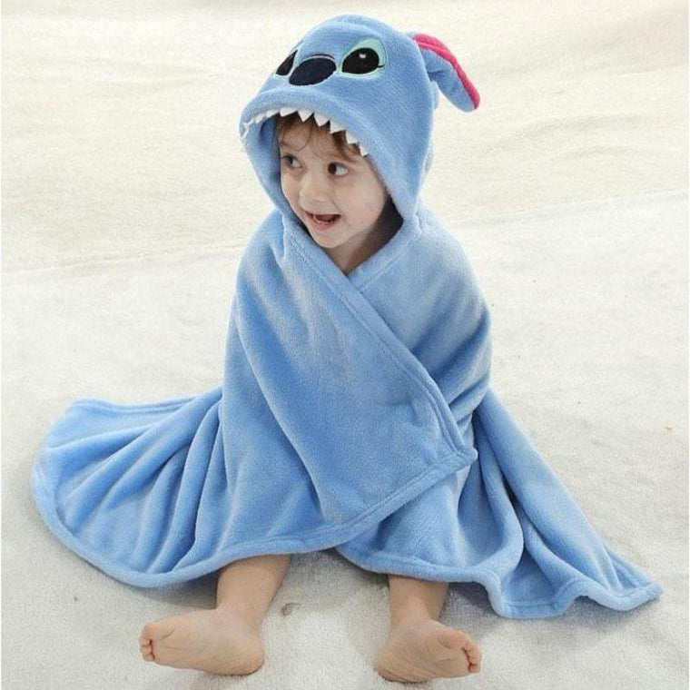 Stitch Baby Bath Towel