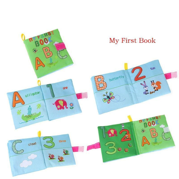 Baby Soft Cloth Math Learning Book