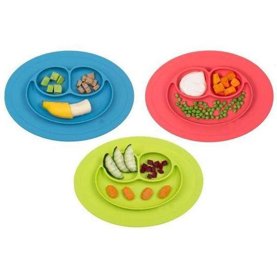 Silicone Feeding Food Plate Baby Toddler