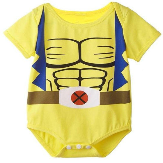 Baby Wolverine Halloween Costume Clothes