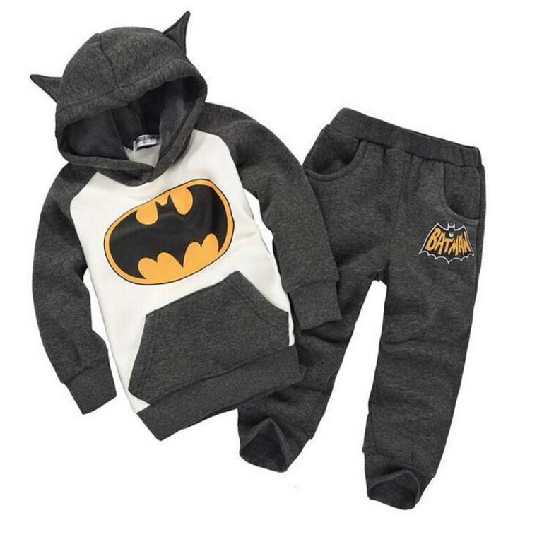 Hooded Batman Clothing Set for Boys