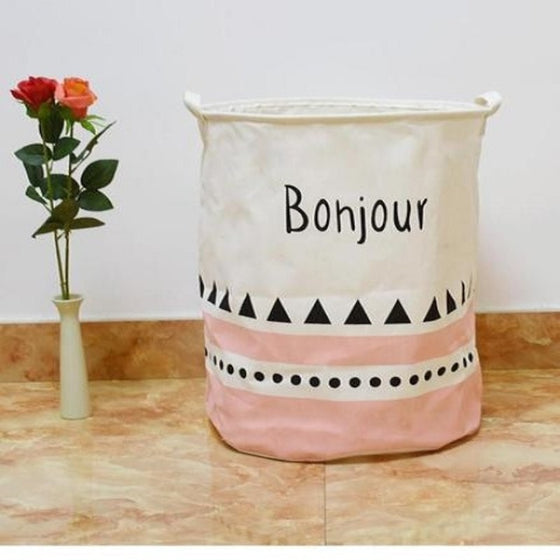 Bonjour' Nursery Storage Laundry Basket