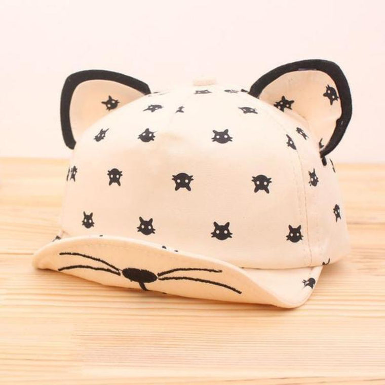 Cute Cat Hat with Ears