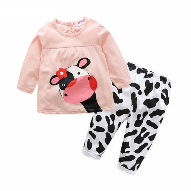 Cow Print Baby Clothes