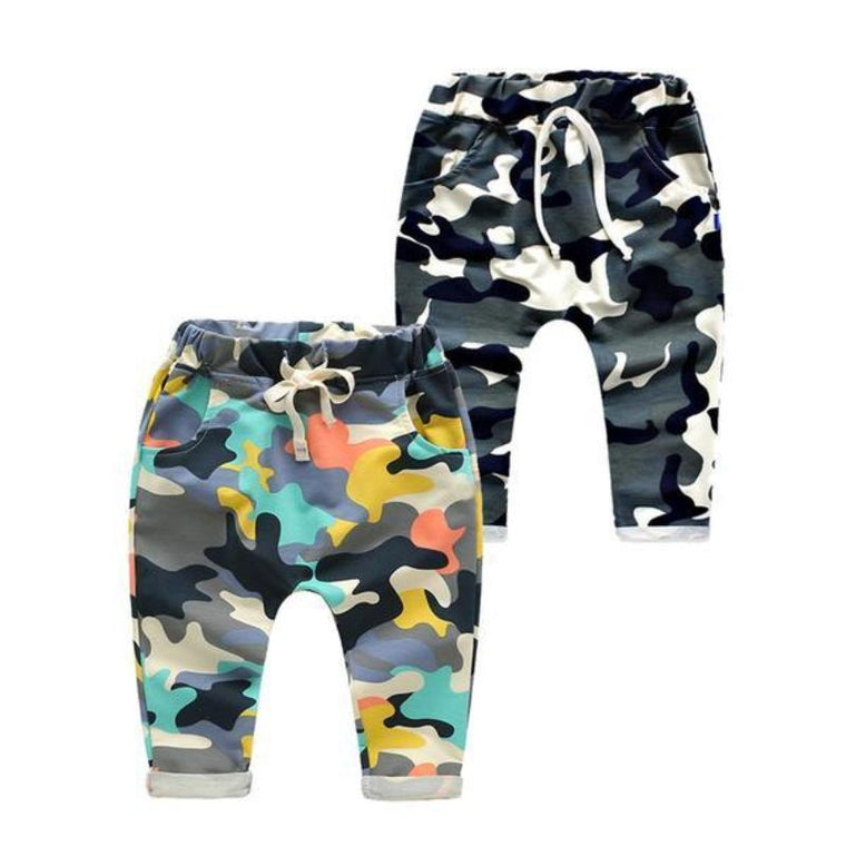 Camouflage Cute Trousers