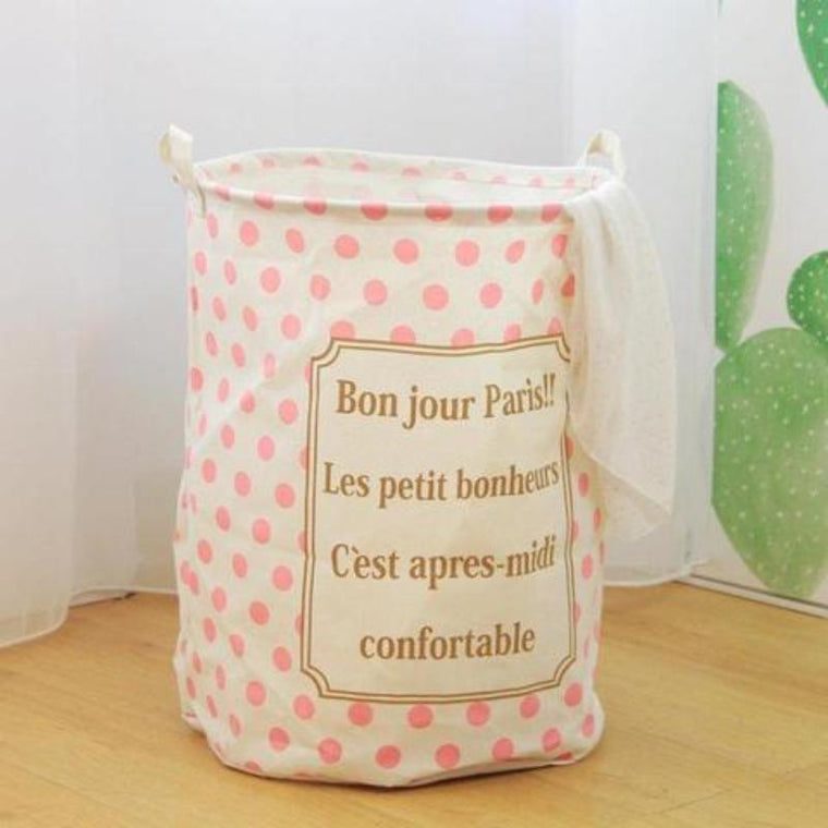 French Analogy Nursery Storage Laundry Basket