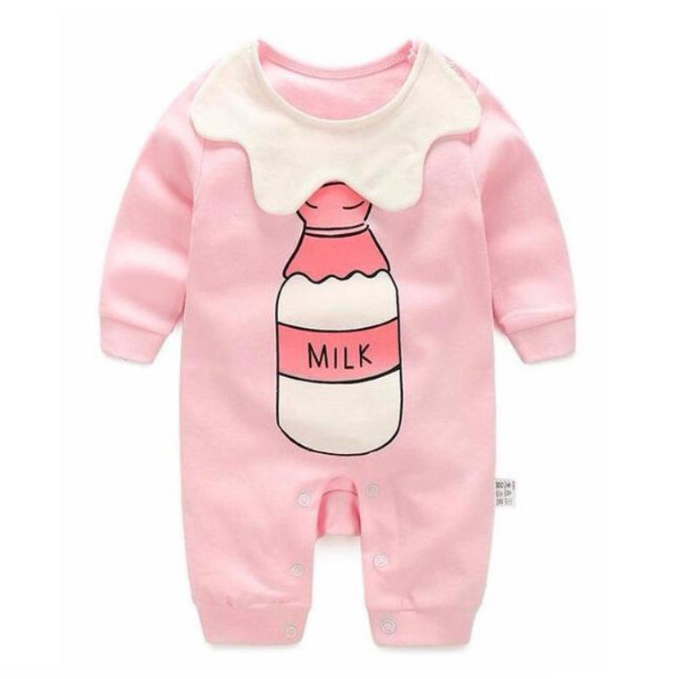 Cute Milk Bottle Onesie