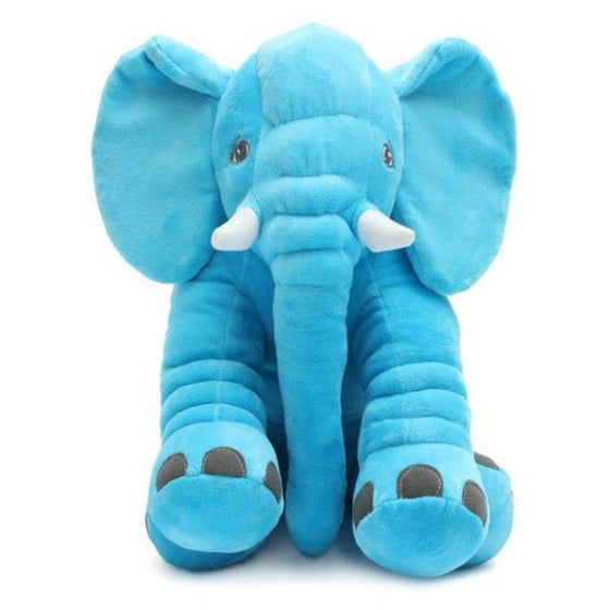 Long Nose Elephant Pillow & Stuff Toy