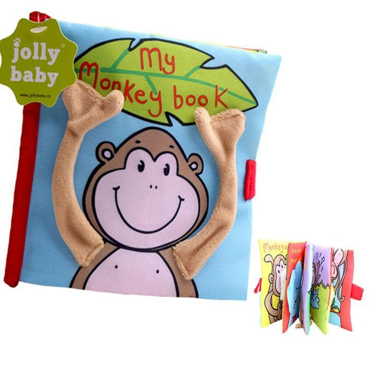 Monkey Cloth Book For Baby