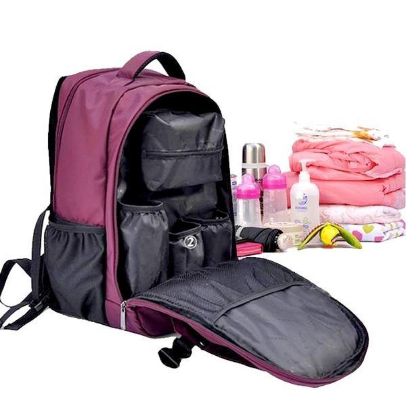 fe3b92b2a3de Baby Travel Backpack Diaper Bag