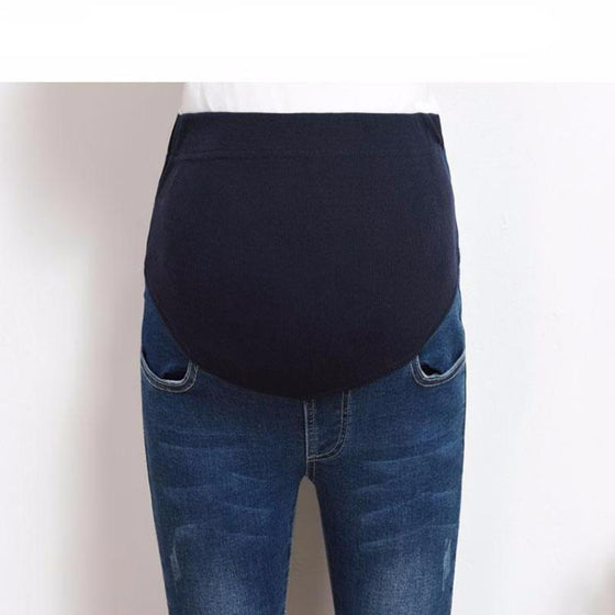 Over The Bump Skin Fit Jeans