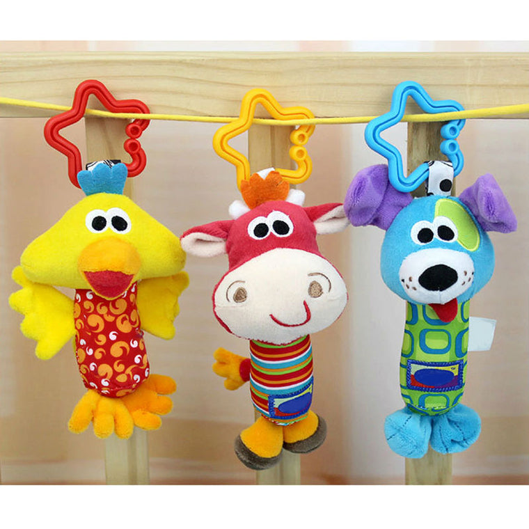 Rattles For Kids Stuffed Animal
