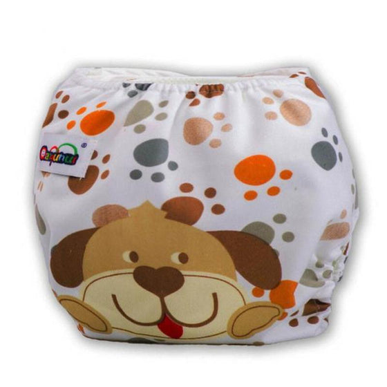 Cute Print Reusable/Washable Diapers for Baby