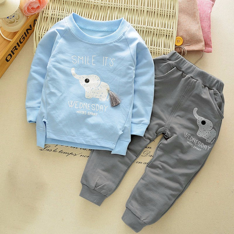 Cute Elephant Baby Outfit For Toddlers