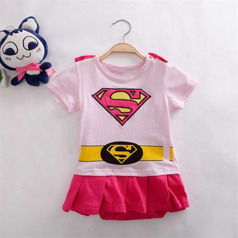 Super girl Baby Outfit