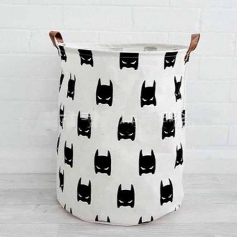 The Bat Mask Nursery Storage Laundry Basket