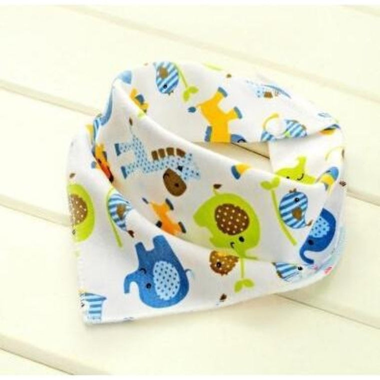 Baby bibs High Quality Triangl Double Layers