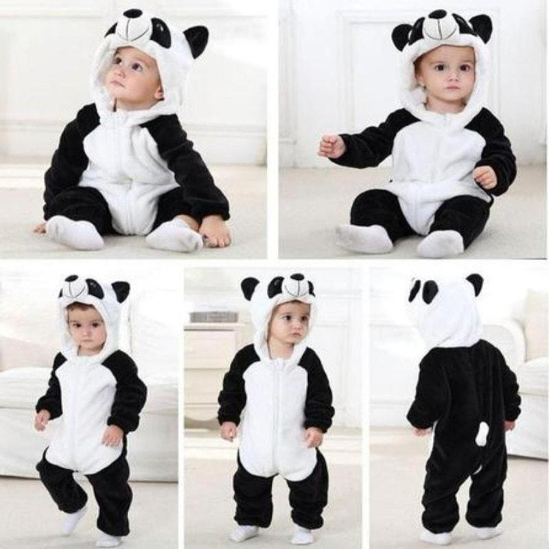 f2e2e21e018 Triple Pack - Panda, Tiger and Stitch Baby Onesie Costume